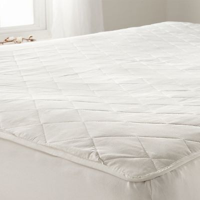 Extra Deep Fully Fitted Quilted Mattress Protector Comfort Bed Cover Sheet
