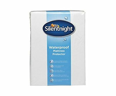 Silentnight Waterproof Mattress Protector Extra Deep Fitted Skirt Cover Sheet