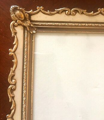 VTG Large Picture Photo Frame Art Nouveau French Antique Hollywood Regency