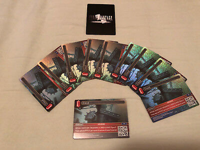 Cloud Promo Final Fantasy TCG Carta Promozionale Italiana A-001