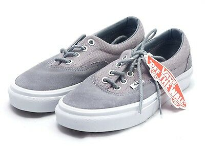 VANS ERA MONUMENT Grey and True White Shoes  fee8bd5451