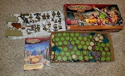HEROSCAPE BATTLE OF ALL TIME RISE OF Christmas present complete used in box