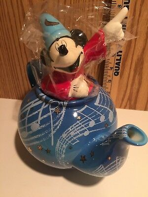 Disney Teapot Cardew Collectibles - Mickey Sorcerer (Fantasia2000)  FDY18209