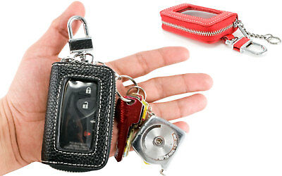 Soft Car Zipper Zip Key Bag Chain Ring Case Cover Holder Wallet Pouch Protector