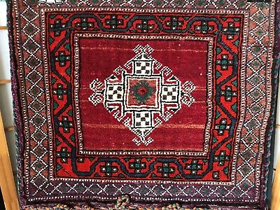 Old Turkish Handmade Anatolian Double Wool Camel Bag  …beautiful collection item
