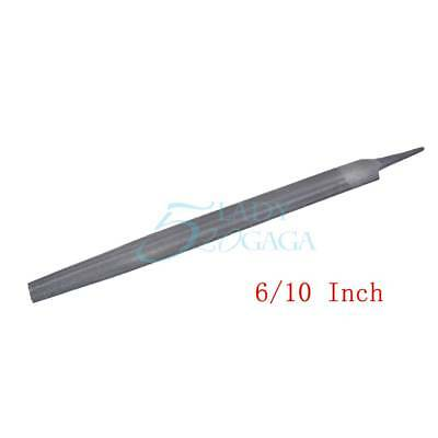 """6""""/10"""" Steel File Fits For Half Round File Double Bastard Cut Tool 1 Piece 1Pc"""