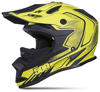 509 Altitude Matte Neon Voltage Off Road Snowmobile Winter Helmet 2Xl