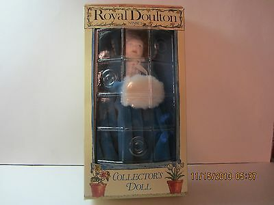 Vintage Royal Doulton Bone China Artist Doll-Victorian B'day Collection-In Box