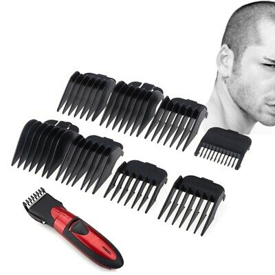 10Pcs Universal Hair Clipper Limit Comb Guide Attachment Size Barber Replacement