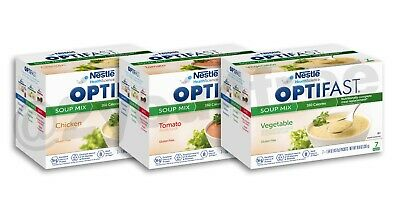 OPTIFAST® 800 SOUP | 6 BOXES | 42 SERVINGS | ANY FLAVOR or VARIETY CHOICES | NEW