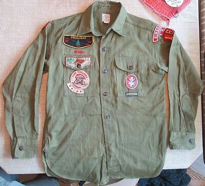 Vintage 1960s Boy Scouts of America Lot Troop 166 Binghamton, New York