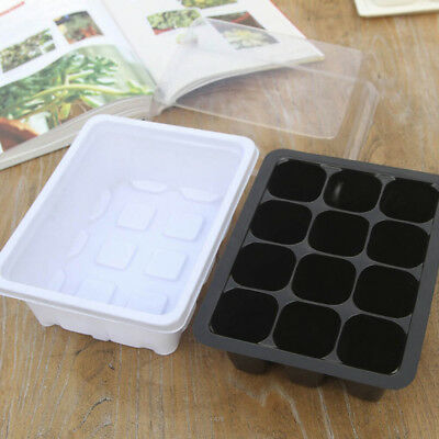 12Hole Plant Seed Grow Box Insert Propagation Nursery Seedling Starter Tray Good