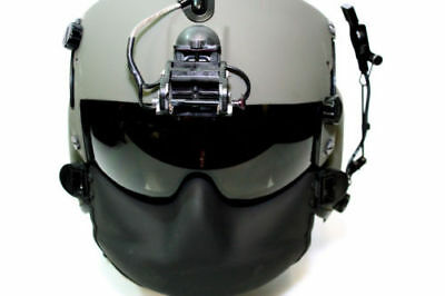 NEW US Military HPU-56/p gentex black maxillofacial face shield striker combat