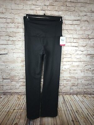INGRID & ISABEL Active Maternity Pants with Crossover Panel Size L