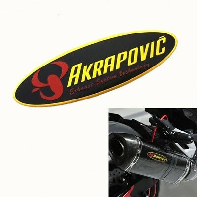 AKRAPOVIC Heat-resistant Exhaust Pipe Sticker Motorcycle Decal Refitting Supplie