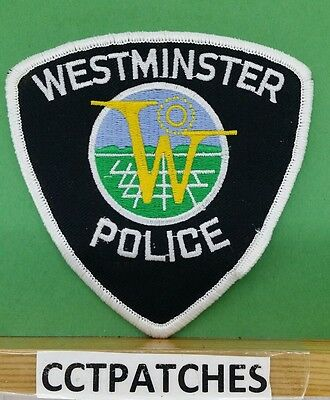 Westminster, Colorado Police Shoulder Patch Co