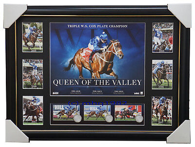 Winx 2017 Cox Plate Champion Official Deluxe Tribute Frame Queen of the Valley