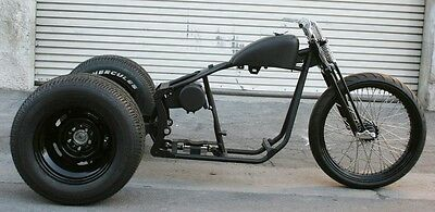 2018 Custom Built Motorcycles Bobber  MMW OG DRAG STYLE   SOFTAIL  TRIKE WITH 23 FRONT AND FAT BACK TIRES