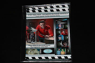 1X Star Trek Authentic Collection Collectible Very Rare Prop Lithium Crystals-3