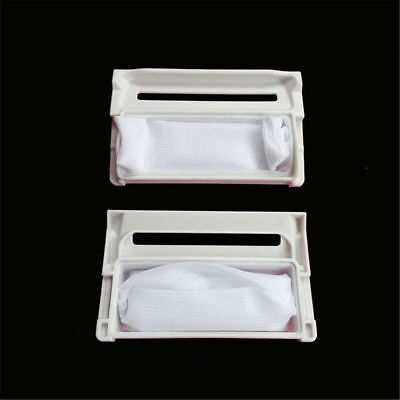 2pcs Lint Filter Sieve Part Net Washer Filter For LG Washing Machine 10.1x6.1cm