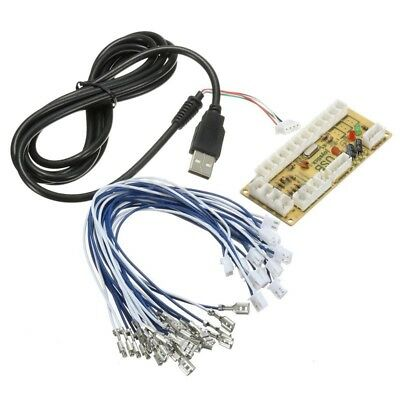 USB Encoder PC to Joystick +Cable Cord For Arcade Game Player Machine Universal