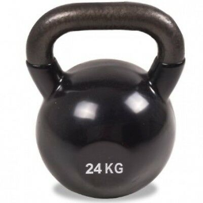 Cast Iron Vinyl Coated Kettlebell 4-32kg