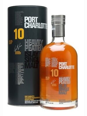 Bruichladdich Port Charlotte Scottish Barley 10yo 2nd Edition Single Malt Whisky