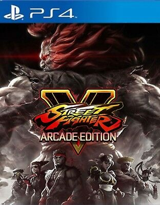 Street Fighter V: Arcade Edition Asia Chinese/English subtitle PS4 NEW