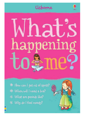Girl Puberty Book For Girls Growing up Guide Female What's Happening to Me?