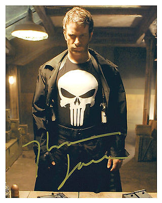 -- THE PUNISHER -- THOMAS JANE -- Autographed 8x10 RP-