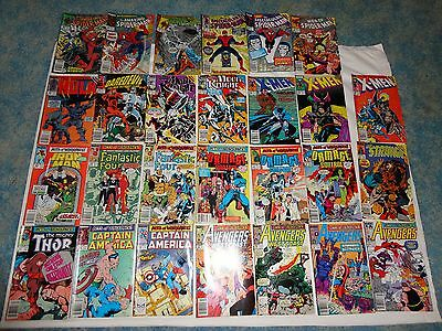 Lot of 27 Marvel Acts of Vengeance! Story Line Related Comics