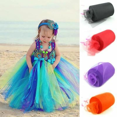 26 Colors Pick 15cm x 90 Meters (6inch x 100 yard) Tulle Roll Spool Fabric For T