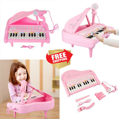 Piano Keyboard Toy Toddler Toys for Girls Learning Activity Play Piano for Kids