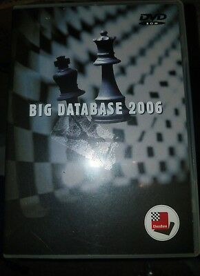 Big Database 2006 [Chess PC DVD-ROM] No booklet