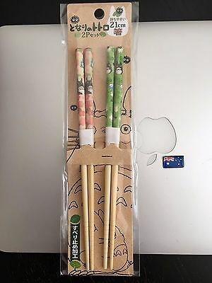 GENUINE MY NEIGHBOUR TOTORO Chopsticks Totoros in Cherry Blossom Sydney Stock