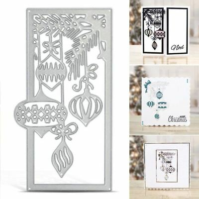 Metal Cutting Dies Stencil Scrapbook Album Paper Card Template 125x70mm For Embo