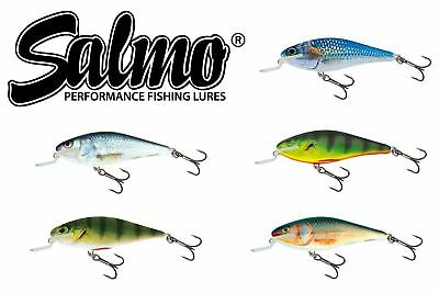 Salmo Perch 12cm SDR *PSA-PH12SDR* lure for Pike Muskie VARIOUS COLOURS!