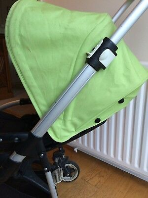 Bugaboo Bee 2012 lime green canopy hood without original box or wires & BUGABOO bee 3 Seat Fabric - £35.00   PicClick UK