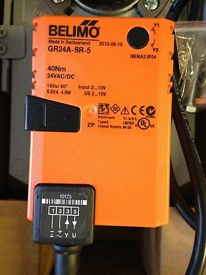 Belimo DR24A-5 Rotary Actuator 40Nm AC/DC 24V. Modulating New in box.