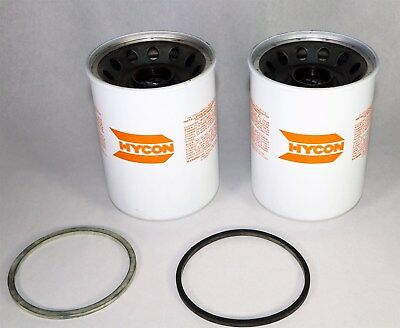 Brand New Lot of TWO (2) HYCON MFE 160-10/2 Hydraulic Oil Filters   L6