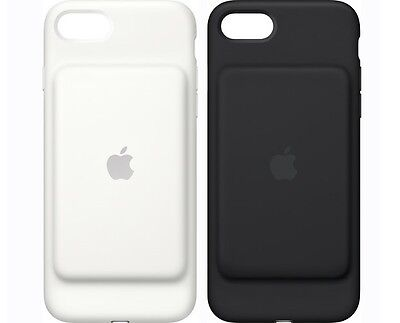 Genuine Apple iPhone 7 Smart Battery Charging Case Cover , Black/White MN002LL/A