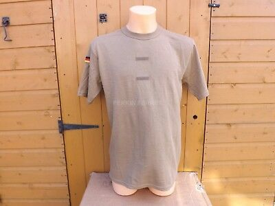 Genuine Issue  German Army  Military T-Shirts In Sand / Tan And Green