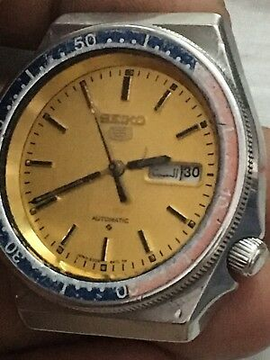 Seiko 5 Sports 6309-836B,S#190074 Japan A,Automatic,Working Men Watch