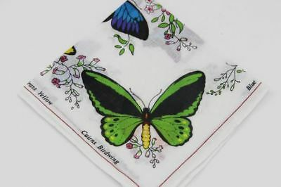 Women's Thin Handkerchiefs 28*28cm / 100% cotton wholesale / butterfly printed