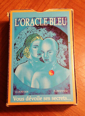 L'oracle bleu, tarot d'occasion (lire la description)