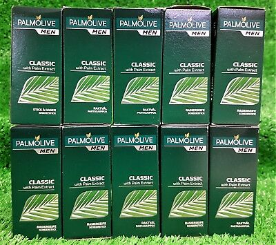 (37,80€/KG) 10X Palmolive for men RASIERSEIFE CLASSIC gratis Versand