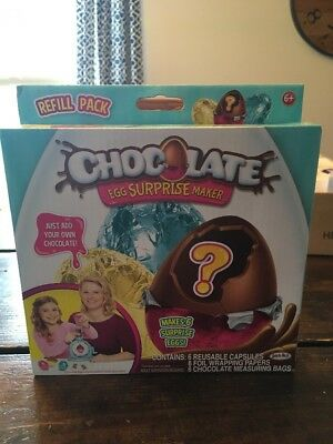 Chocolate Egg Surprise Maker Refill Lot Of 7 Boxes