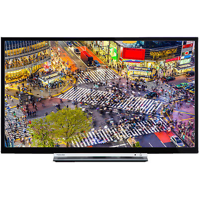 TOSHIBA 24D3763DA LED TV (Flat, 24 Zoll, HD-ready, SMART TV, Linux)