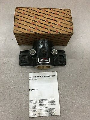 """New In Box Rexnord Brz Pillow Block Bearing 1-3/4"""" Bore 21228Z"""