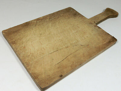 Old Antique primitive Wood Wooden Bread Cutting Board Dough Peel Paddle Plate *5